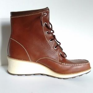 Red Wing Wedge Work Boots